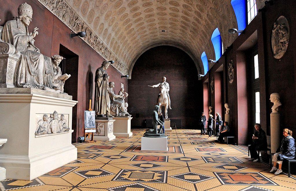 Musée de Sculpture Thorvaldsens à Copenhague - Photo de Jerrye & Roy Klotz MD