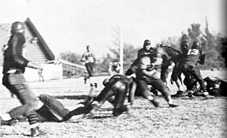 Oklahoma State–Texas Tech football rivalry - Image: TTU Football 1936 vs OA&M