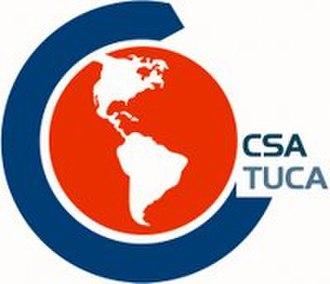 Trade Union Confederation of the Americas - Image: TUCA CSA logo