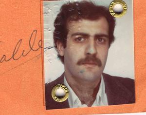 Nassim Nicholas Taleb - Taleb in his student days