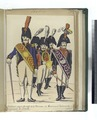Tambour-major du reg-t de la Princesse; 2. Musiciens et Tambour du regiment de Zamora (1806) (NYPL b14896507-87932).tiff