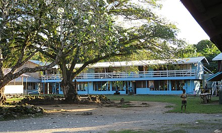 School in Tanagai on Guadalcanal
