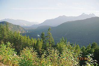 Tantalus Range - Image: Tantalus Range