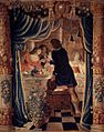 Tapestry by unknown weaver - Merry Company by Candlelight - WGA24158.jpg