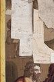 """Tapeten """"Nattvarden"""" i en serie på åtta med scener ur bibliska historien. Konservering av vävdtapet - Skoklosters slott - 93709.tif"""