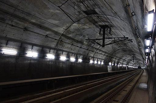 Tappi-Kaitei Tunnel of Hokkaido Railway Company