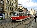 Tatra T3R.PV u zastávky Krymská.jpg