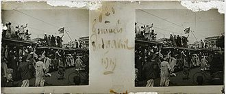Egyptian Revolution of 1919 - Protesters during the Egyptian Revolution of 1919