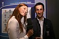 Team Austria - Olympic Games 2012 - farewell party, Karl Markt, Mirna Jukic 2.jpg