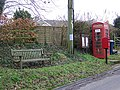Telephone box, West Stour - geograph.org.uk - 1155508.jpg