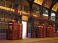 Telephone boxes in Smithfield Market, EC1 - geograph.org.uk - 1719708.jpg