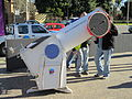 Telescope set up by the Wagga Wagga Observatory at the Civic Centre for the transit of Venus (2).jpg