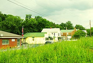 Telford, Tennessee - Buildings along Mill Street