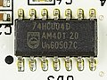 TerraTec Cinergy T² - controller - Philips 74HCU04D-1866.jpg