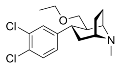 Tesofensine chemical structure.png