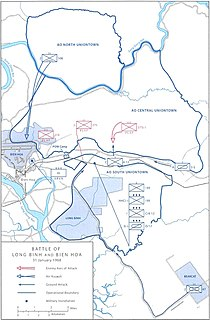 Tet Offensive attacks on Bien Hoa and Long Binh
