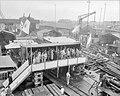 Tewaterlating motorvrachtboot Van Noort Werf Bolle N te Bolnes, Bestanddeelnr 906-7055.jpg