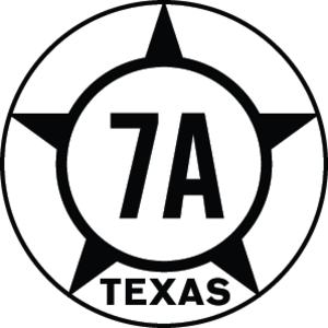 Texas State Highway 7 - Image: Texas Hist SH7A
