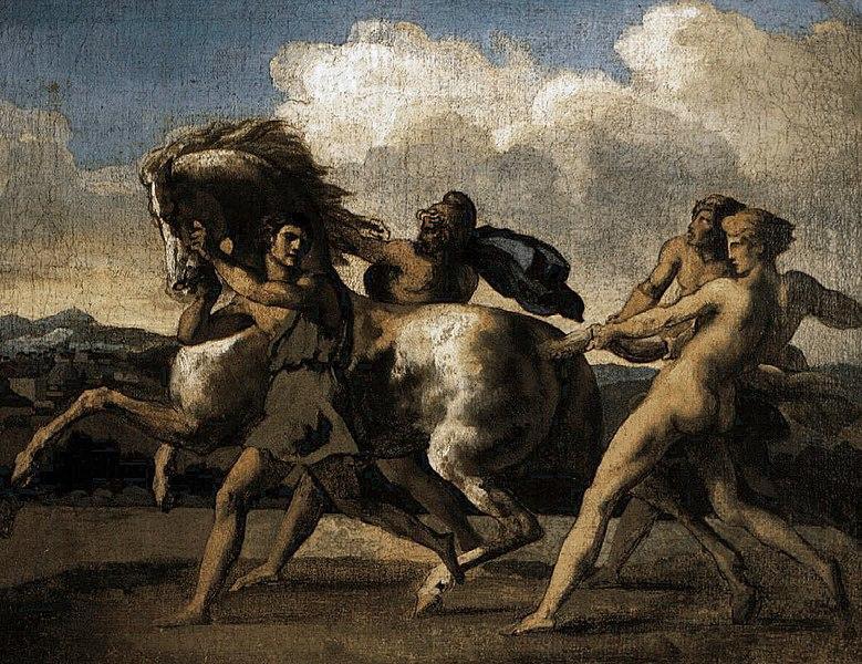 Ficheiro:Théodore Géricault cavalo bravo.jpg