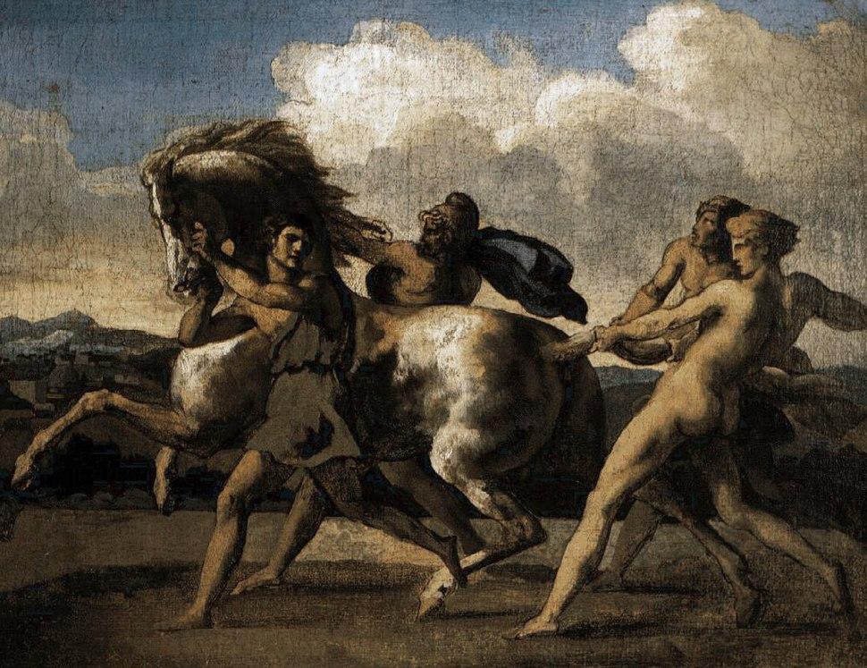 Théodore Géricault cavalo bravo