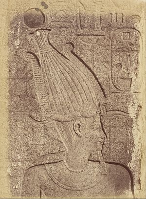 Philip III of Macedon - Philip III as pharaoh on a relief in Karnak