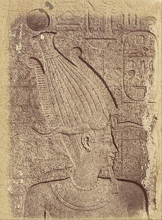 Philip III of Macedon - Philip III as pharaoh on a relief in Karnak