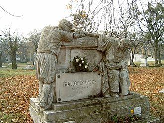 Lajos Thallóczy - Lajos Thallóczy's grave at the Kerepesi cemetery in Budapest