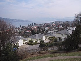 View of Thalwil from the north