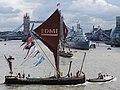 Thames barge parade - downstream - Edme 6794c.JPG