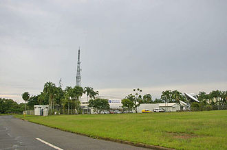 NTD (TV station) - The Nine Network's Darwin headquarters in The Gardens.