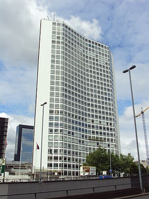 Alpha Tower - Image: The Alpha Tower, Birmingham DSC08757