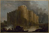 The Bastille in the first days of its demolition, by Hubert Robert.jpg