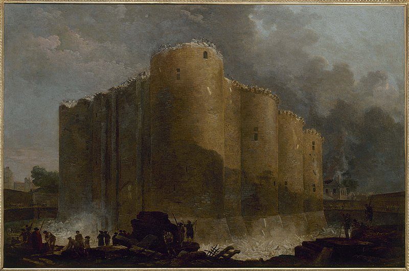 File:The Bastille in the first days of its demolition, by Hubert Robert.jpg