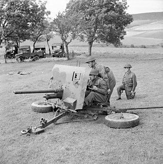 Ordnance QF 2-pounder British anti-tank and vehicle-mounted gun
