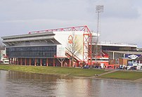 The City Ground, Nottingham, Taken from Trent ...