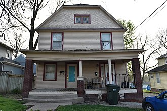 National Register of Historic Places listings in Mahaska County, Iowa - Image: The Conover House