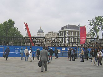 The day after the fire, 21 May 2007 The Cutty Sark, burnt out - geograph.org.uk - 445455.jpg