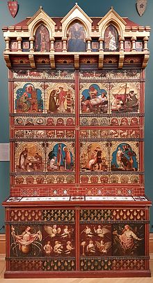 The Great Bookcase, front view, Ashmolean Museum, Oxford.jpg