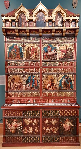 Great Bookcase - Image: The Great Bookcase, front view, Ashmolean Museum, Oxford