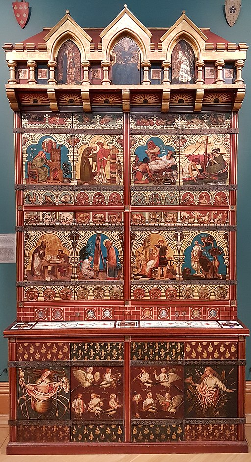 The Great Bookcase Ashmolean Museum, Oxford