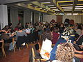 The HUC crew get together to celebrate a traditional Thanksgiving in Jerusalem. (3092799542).jpg