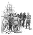 The Leading Facts of American History (1910) - The First Negro Slaves Brought to Virginia.png