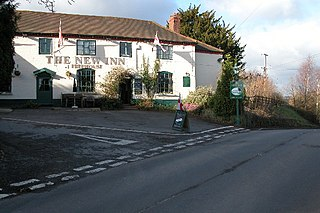 Shrawley village and civil parish in the Malvern Hills District in the county of Worcestershire, England