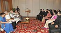 The Officer Trainees of the 2012 batch of Indian Foreign Service calling on the Prime Minister, Shri Narendra Modi, in New Delhi on June 12, 2014.jpg
