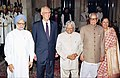 The President Dr. A.P.J. Abdul Kalam conferred Jawaharlal Nehru Award for International Understanding to the Prime Minister of Singapore Mr. Goh Chok Tong at a function in New Delhi on July 9, 2004.jpg