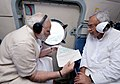 The Prime Minister, Shri Narendra Modi and the Chief Minister of Bihar, Shri Nitish Kumar conducting an aerial survey of flood affected areas, in Bihar on August 26, 2017.jpg