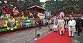 The Prime Minister, Shri Narendra Modi visiting the exhibition at the Haryana Swarna Jayanti Celebration Ceremony venue, in Gurugram, Haryana.jpg