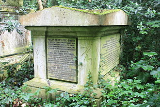 Philip Pye-Smith - The Pye-Smith tomb in Abney Park Cemetery