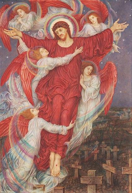 Biografia y Obras de los Pintores de la Hermandad Prerrafaelita - I - Página 2 425px-The_Red_Cross
