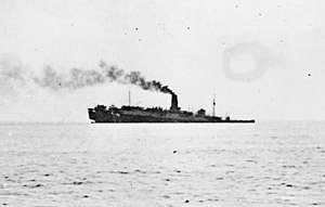 RMS Lancastria - Lancastria sinking off St. Nazaire.